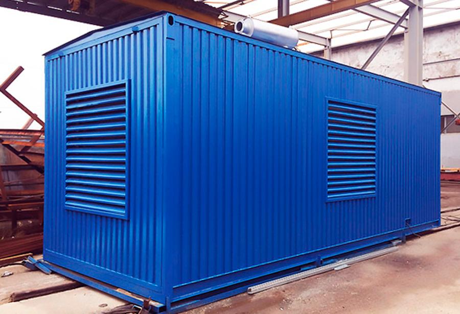 вентиляционная решетка для контейнера