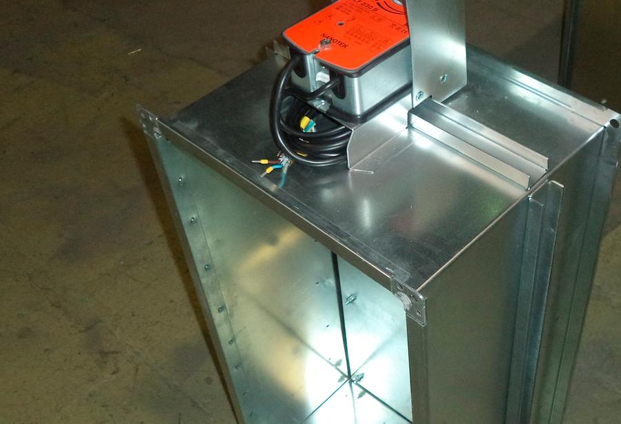 клапан дымоудаления с электромеханическим приводом цена