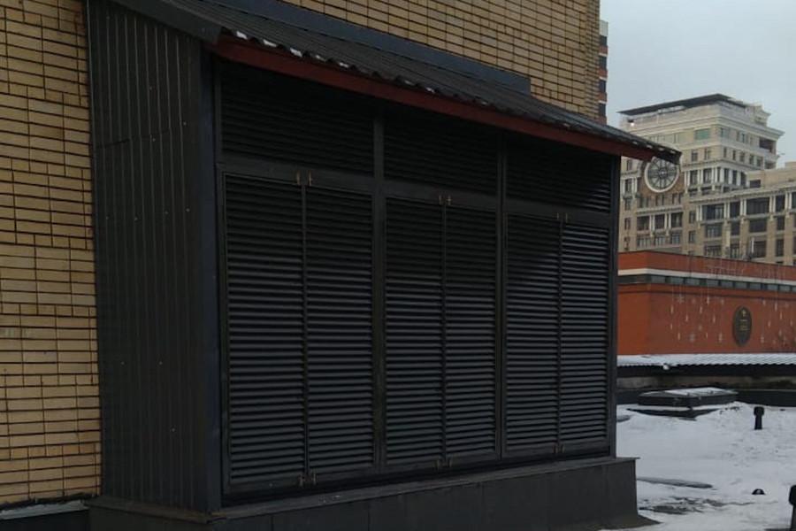 вентиляционные решетки для наружных блоков холодильного оборудования