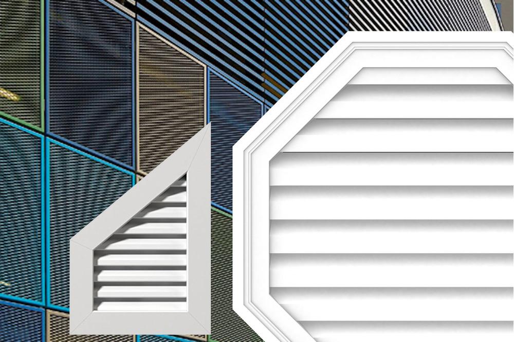 формы вентиляционных решеток