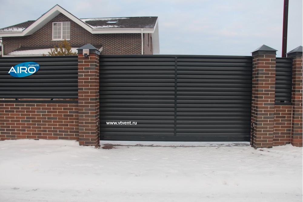 Жалюзийный забор
