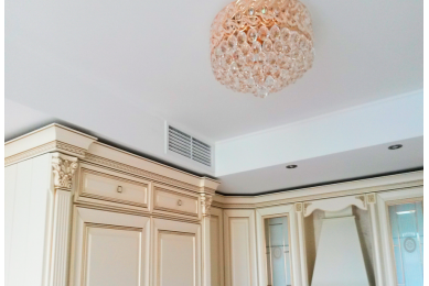 решетка на воздуховод на кухне