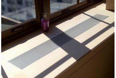 алюминиевая решетка для подоконника