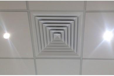 решетка вентиляционная потолочная