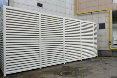 Техническое ограждение вентиляционными решетками AIRO-CR