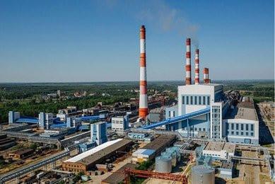 Вентиляционные решетки AIRO-NS на фасаде Черепецкой ГРЭС