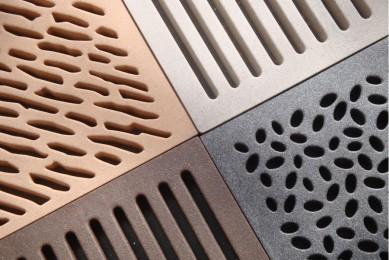 дизайнерские вентиляционные решетки в ванную
