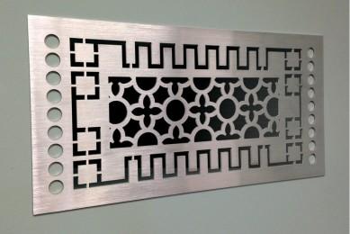 вентиляционная решетка декоративная интерьерная