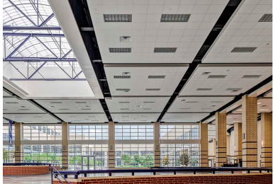 вентиляционная решетка подвесного потолка