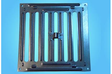 решетка для вентиляции с задвижкой