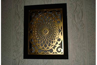 решетки вентиляционные декоративные накладные