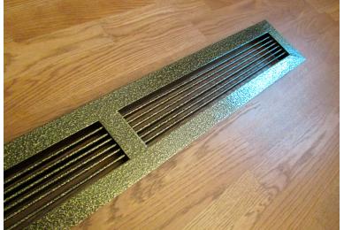 вентиляционные решетки внутренние металлические