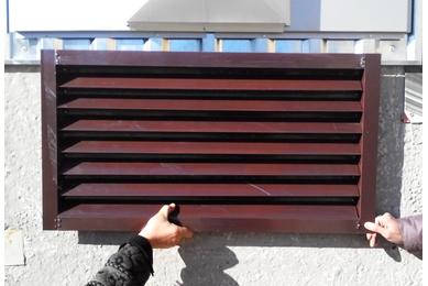 решетка вентиляции для гаража