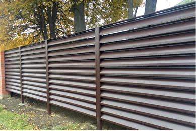 забор жалюзийный