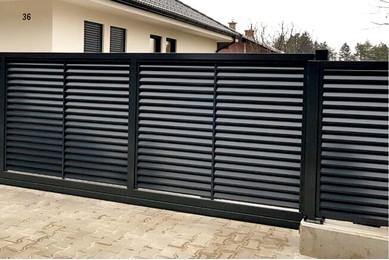 Пластиковый забор жалюзи