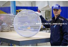 AIRO-R1 круглая вентиляционная решетка