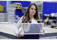 AIRO-NPE перфорированная вентиляционная решетка накладная