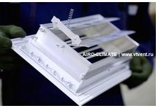 AIRO-R1 с КРВ регулируемая вентиляционная решетка однорядная