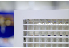 AIRO-R2 с КРВ (премиум) регулируемая вентиляционная решетка двухрядная