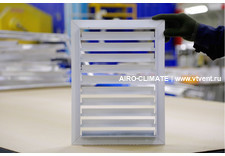 AIRO-RND(V) наружная вентиляционная решетка