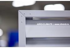 AIRO-FK (N90) жалюзийная решетка с горизонтальными ламелями против осадков