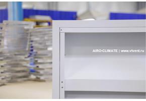 AIRO-SOUND(2) L=600 акустическая шумопоглощающая вентиляционная решетка