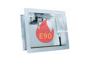 Клапан дымоудаления ЭМ (220) огнестойкость Е90