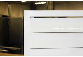 AIRO-FK оцинкованная решетка с Z-образными жалюзи