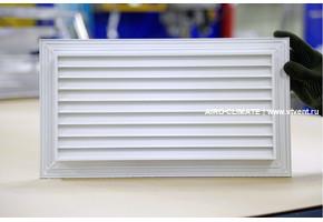 AIRO-PR без ответной рамки - переточная дверная вентиляционная решетка