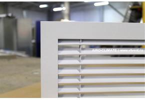 AIRO-R1(PR) нерегулируемая вентиляционная решетка однорядная
