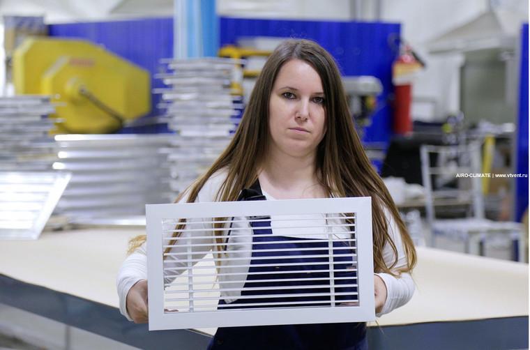 AIRO-RSP декоративная вентиляционная решетка