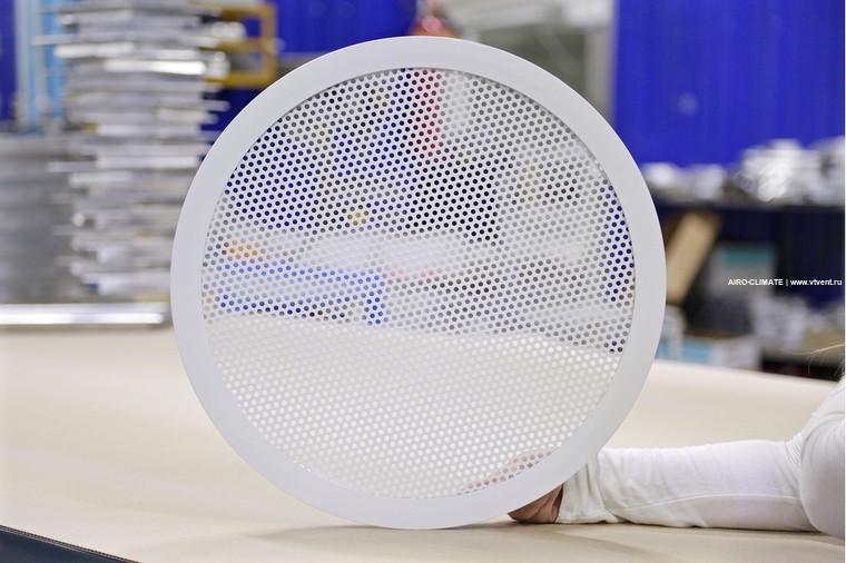 AIRO-PE(T30) круглая вентиляционная решетка