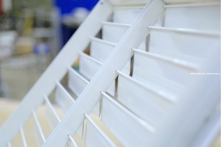 AIRO-IN(45) инерционная вентиляционная решетка