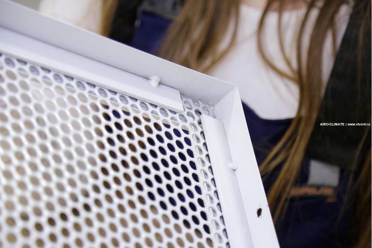 AIRO-NPE2 перфорированная накладная усиленная вентиляционная решетка