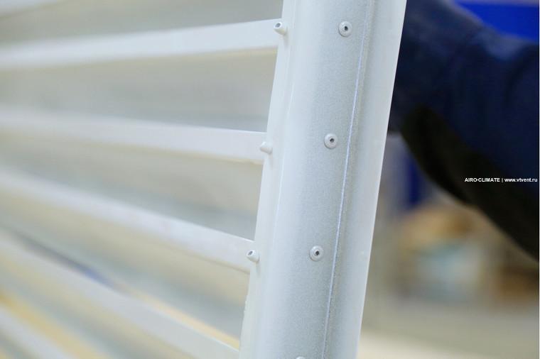 AIRO-NZ наружная вентиляционная решетка
