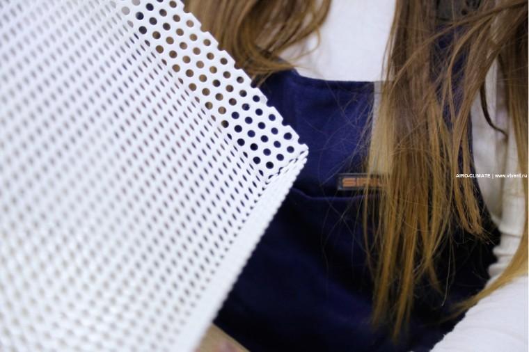 AIRO-PK потолочная перфорированная вентиляционная панель стальная