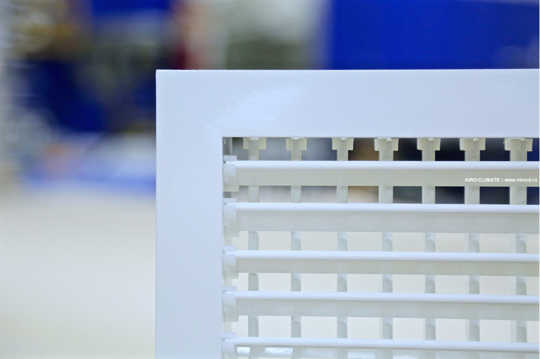AIRO-RV2 регулируемая вентиляционная решетка двухрядная