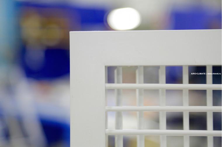 AIRO-R2 (премиум) регулируемая вентиляционная решетка двухрядная