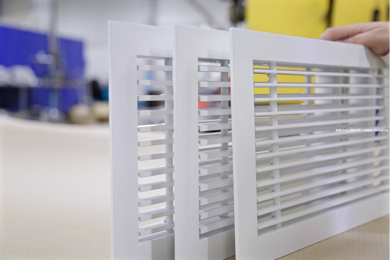 AIRO-RSY декоративная вентиляционная решетка