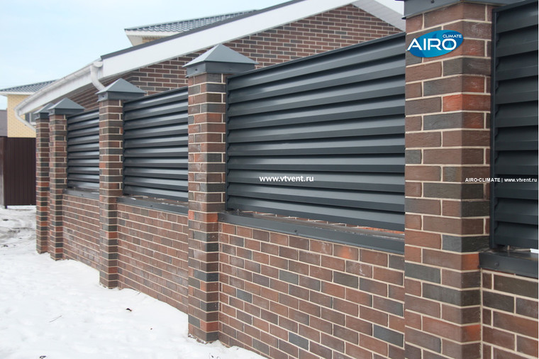 Забор жалюзи AIRO-HV