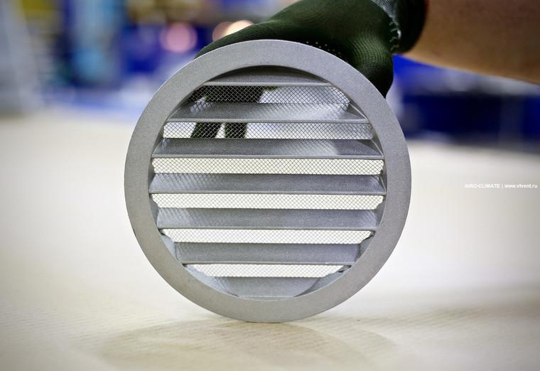 IGC круглая вентиляционная решетка